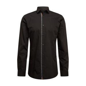 HUGO Košeľa 'Erondo'  čierna