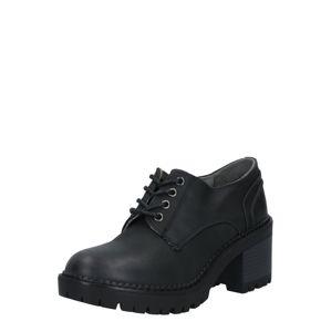 MTNG Šnurovacie topánky  čierna