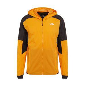 THE NORTH FACE Funkčná bunda  čierna / oranžová