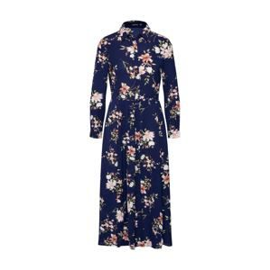 Boohoo Letné šaty  námornícka modrá