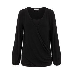 MAMALICIOUS Tričko 'ANNY'  čierna