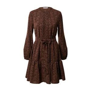 Freebird Košeľové šaty 'Bobby'  hnedá / zmiešané farby