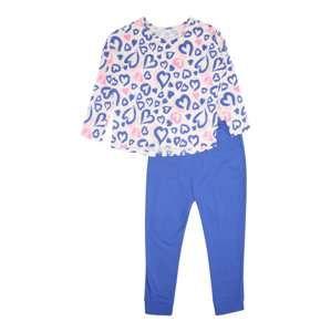 SANETTA Pyžamo  modré / ružová / biela