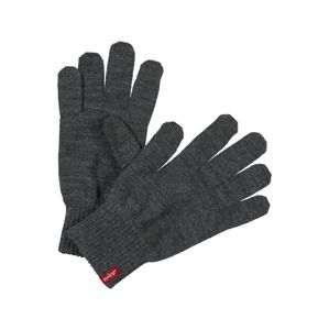 LEVI'S Prstové rukavice 'BEN TOUCH SCREEN GLOVES'  sivá
