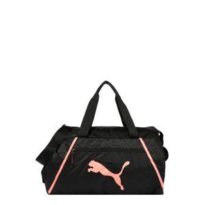 PUMA Športová taška 'Pearl'  koralová / čierna