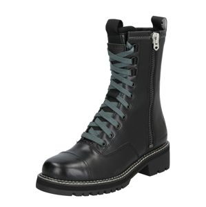 G-STAR RAW Čižmy 'Minor Zip Boot'  čierna