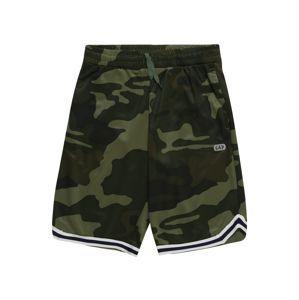 GAP Nohavice  biela / zelená / čierna