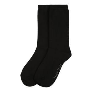 ThokkThokk Ponožky  čierna