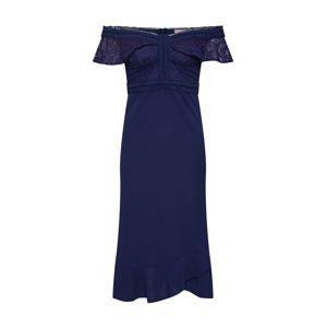 Love Triangle Kokteilové šaty 'Reign Supreme'  námornícka modrá