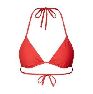 Calvin Klein Swimwear Bikinový top  svetločervená