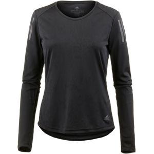 ADIDAS PERFORMANCE Funkčné tričko 'Own The Run'  tmavosivá / čierna