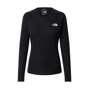 THE NORTH FACE Funkčné tričko 'REAXION'  čierna / biela