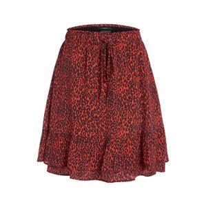 SET Sukňa  čierna / červené