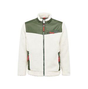 minimum Prechodná bunda 'Loen'  zelená / biela