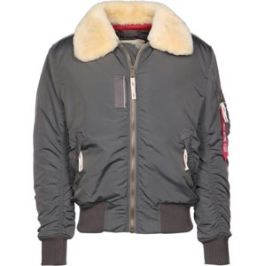 ALPHA INDUSTRIES Zimná bunda 'Injector III'  tmavosivá