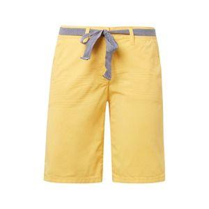 TOM TAILOR Chino nohavice  žlté