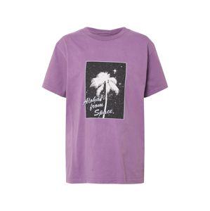 QUIKSILVER Tričko  fialová