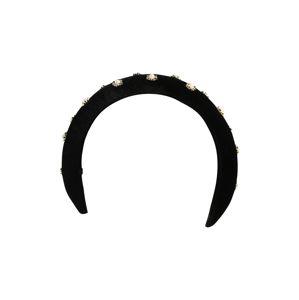 OBJECT Bižutéria do vlasov 'MANDY'  čierna