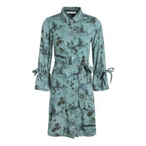 OUI Košeľové šaty  nefritová / zmiešané farby