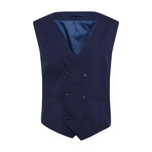 BURTON MENSWEAR LONDON Vesta k obleku  námornícka modrá