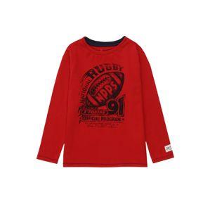 Noppies Tričko 'Camperdown'  čierna / červená