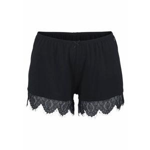 LASCANA Pyžamové nohavice  čierna