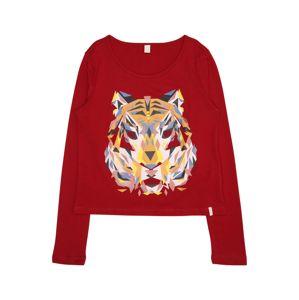 ESPRIT Tričko 'TEE-SHIRT'  karmínovo červená