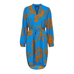 SELECTED FEMME Šaty  hnedé / modré