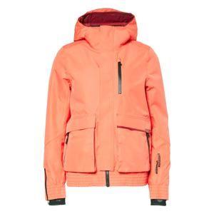 CHIEMSEE Športová bunda 'SNOWBIRD'  koralová / čierna