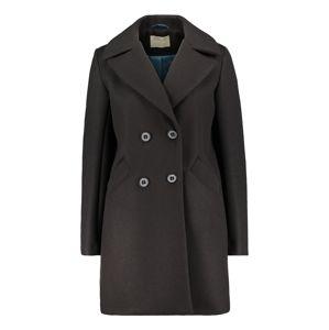 Amber & June Prechodný kabát  čierna