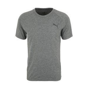 PUMA Funkčné tričko 'Evostripe Move'  sivá melírovaná