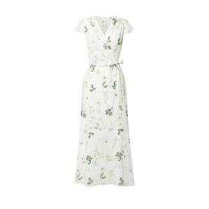 IVY & OAK Šaty  biela / trávovo zelená
