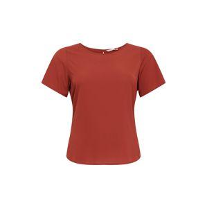 ONLY Carmakoma Tričko 'Luxmai'  hrdzavo červená