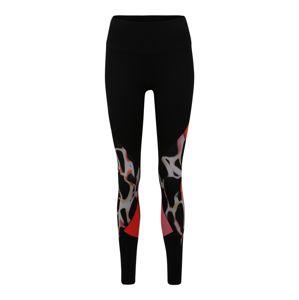 UNDER ARMOUR Športové nohavice 'UA Rush'  čierna / zmiešané farby