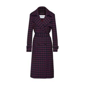 RENÉ LEZARD Prechodný kabát 'M006S'  fialová / červené / čierna