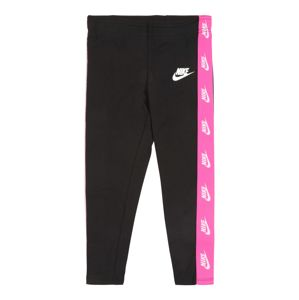 Nike Sportswear Legíny 'FUTURA'  čierna / ružová