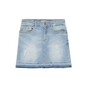 Calvin Klein Jeans Sukňa 'LUSTER'  modrá denim