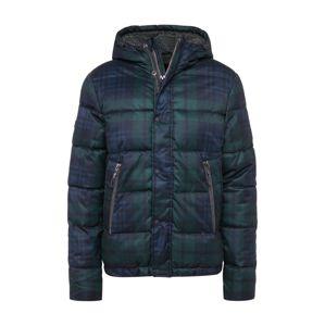 Superdry Zimná bunda 'NEW ACADEMY JACKET'  zelená / námornícka modrá