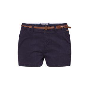 Superdry Chino nohavice  námornícka modrá