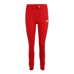 Superdry Športové nohavice 'COMBAT'  červené / biela