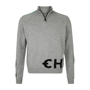 CHIEMSEE Športový sveter  sivá