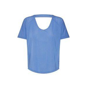 NIKE Funkčné tričko 'W NK MILER TOP SS BREATHE'  dymovo modrá