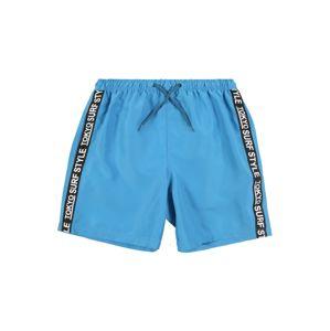 BLUE SEVEN Plavecké šortky 'Beach Bermuda'  modré