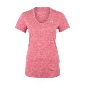 UNDER ARMOUR Funkčné tričko 'Tech'  s ružovými fľakmi