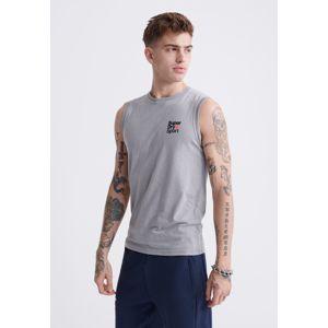 Superdry Funkčné tričko  námornícka modrá