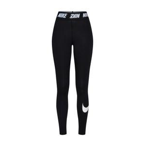 Nike Sportswear Športové nohavice  biela / čierna
