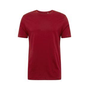 BURTON MENSWEAR LONDON Tričko  červené