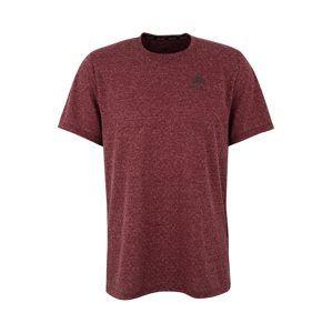 ODLO Funkčné tričko 'BL TOP Crew neck s/s MILLENNIUM Linencoo'  vínovo červená