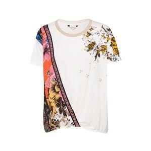 Desigual Tričko 'ATENAS'  biela / zmiešané farby
