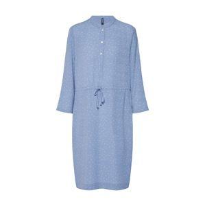 Desires Košeľové šaty 'Valeska'  svetlomodrá / biela